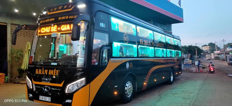 Nhà xe Khảm Diệu nhà xe uy tín nhất chạy tuyến Tp HCM - Gia Lai