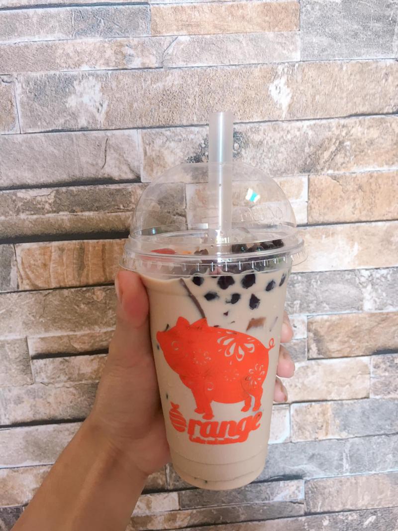 Trà sữa Orange Pleiku Quán sữa tươi trân châu đường đen ngon nhất tại TP. Pleiku, Gia Lai